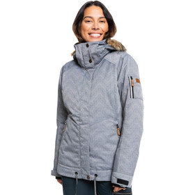 Roxy Meade Jacket Women, grå